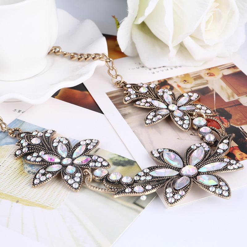 19 Fashion Designer Chain Choker Statement Necklace Women Necklace Bib Necklaces & Pendants Gold Silver Chain Vintage Jewelry 24