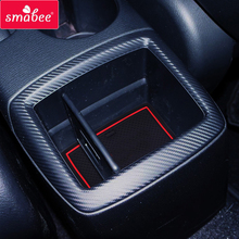 smabee For Mazda CX-3 Gate slot mat CX3 Door groove mats Anti Slip Mat Pad/Cup 13pcs red blue white