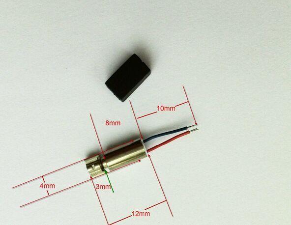 200 pcs/LOT 4*8mm DC 0.8 ~ 3 v vibration Micro moteur Mini moteur pour téléphone portable et téléavertisseur bricolage, etc.
