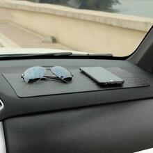 Автомобильный орнамент PU 40×20 см Sticky Pad нескользящий коврик Автомобили интерьерные украшения Нескользящая подушка приборная панель держатель для gps телефона