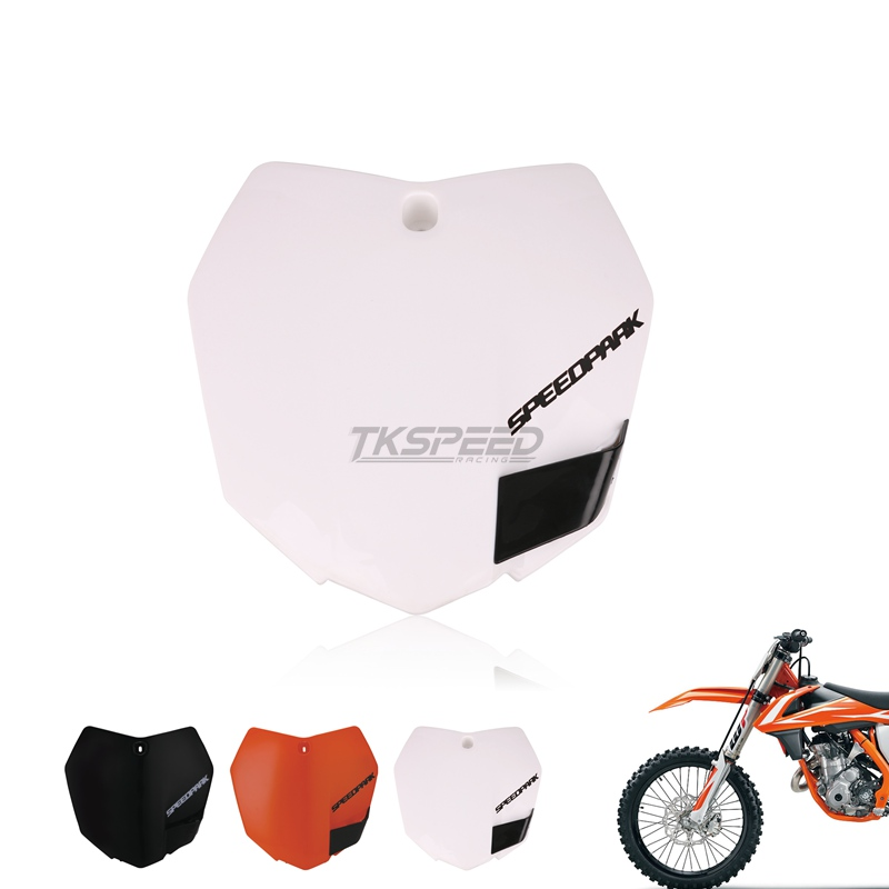 Plastic Front License Number Plate For KTM 250 SX-F 250 XCF-W 150 XC 2013-15 New