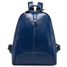 Fashion Women's Backpacks GENUINE LEATHER Women