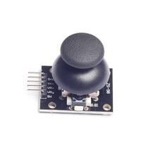 5pcs For Arduino Biaxial buttons rocker PS2 Game rocker lever sensor Joystick