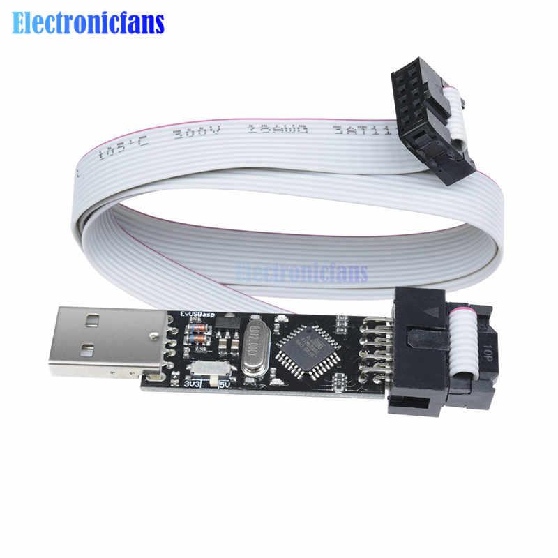 USBasp USBISP 3,3 В/5 В AVR программатор USB ATMEGA8 ATMEGA128
