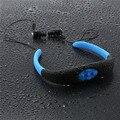 4 GB Reproductor de Música Banda Para El Cuello Deportes Bajo El Agua Natación Buceo IPX8 Impermeable MP3 con FM Radio de Auriculares Estéreo de Audio Para Auriculares