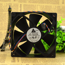 12CM 12038 12V 1.0A AUC1212DE 120 * 120 * 38mm 4 wire PWM Silent wi of chassis Cooling fan YK550-A00