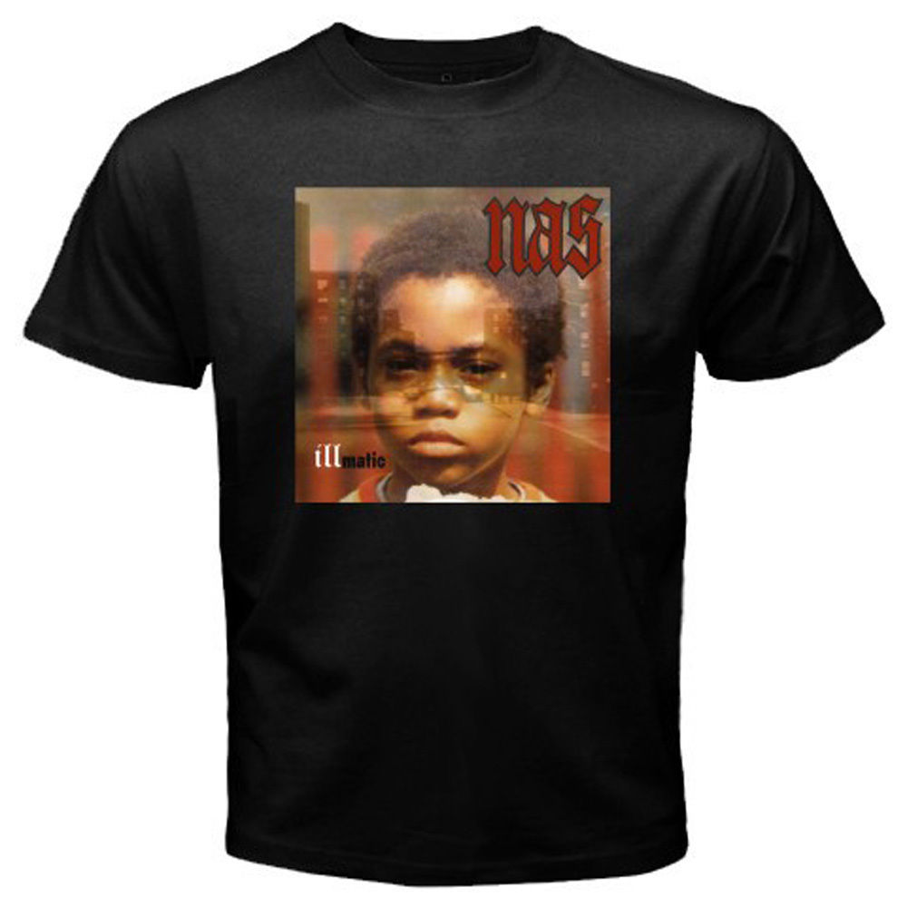 High Quality For Man Better New Nas Illmatic Album Cover Men'S T Shirt