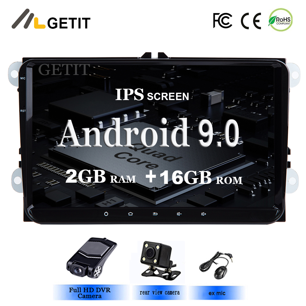 Android 9 0 Car Multimedia PLAYER for vw Seat Altea Toledo GOLF 5 6 Polo Passat