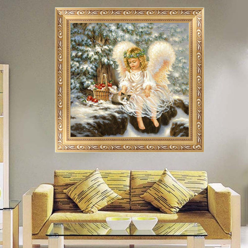 Fashion Diy 5d Embroidery Diamond Painting Cross Stitch