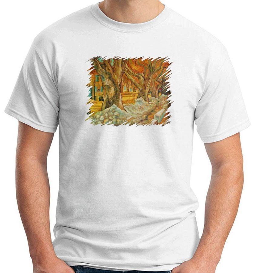 Selciatori In Boulevard Victor Hugo A Saint Rmy 2018 Customize Funny Shirts Men Casual Cotton Free Shipping