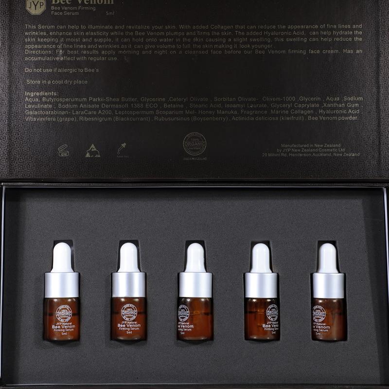 JYP Organic Manuka Honey Bee Venom Firming Tightening Anti Aging Wrinkle Moisturizing Neck Face Serum Skin Elasticity Firmness 6