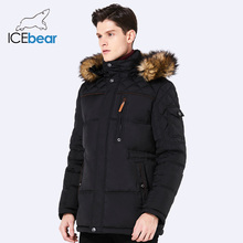 ICEbear 2017 Winter New Jacket Men Warm Coat Fashion Casual Parka Medium-Long Thickening Coat Men For Winter 15MD927D
