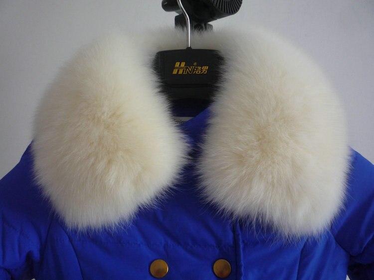 Livraison gratuite colliers de fourrure foulards homme et femme le col de fourrure de renard 22 couleurs femmes écharpe de fourrure col spécial - 3