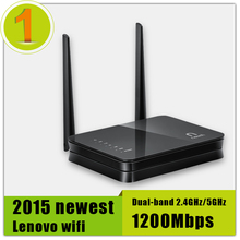 Promotion 100 Original For Lenovo Wi fi Router Dual band 2 4GHz 5GHz Maximum 1200Mbps Support