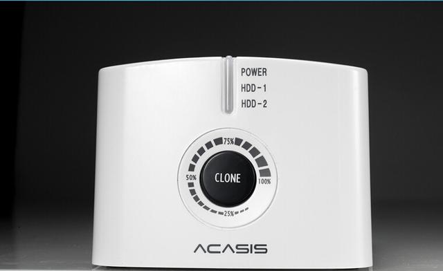 Acasis BA-12US 3.5-Inch SATA USB3.0 Docking Station Dupla HDD Disco Rígido Disco Rígido Caixa 10072TW Offline Clonagem Duplicador