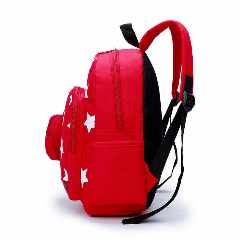 Bolsas para niños, mochilas escolares de nailon para niños, mochilas escolares para bebés y niñas, mochila Linda para niños