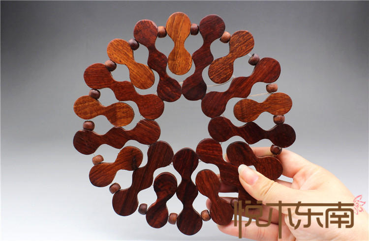mahogany pans, solid acid, wooden household food and beverage products, solid wood circular large bowl pad handicraft production