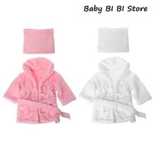 Банные халаты обертывание новорожденных реквизит для фотосессии аксессуары для фотосессии