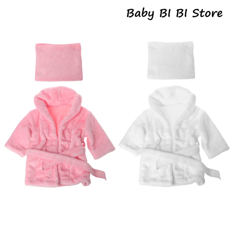 2019 Bathrobes Wrap Newborn Photography Props Baby Photo Shoot Accessories