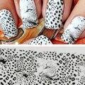 Wild Style transferência completa do envoltório água Nail Art Salon decalque adesivos dicas DIY decorações