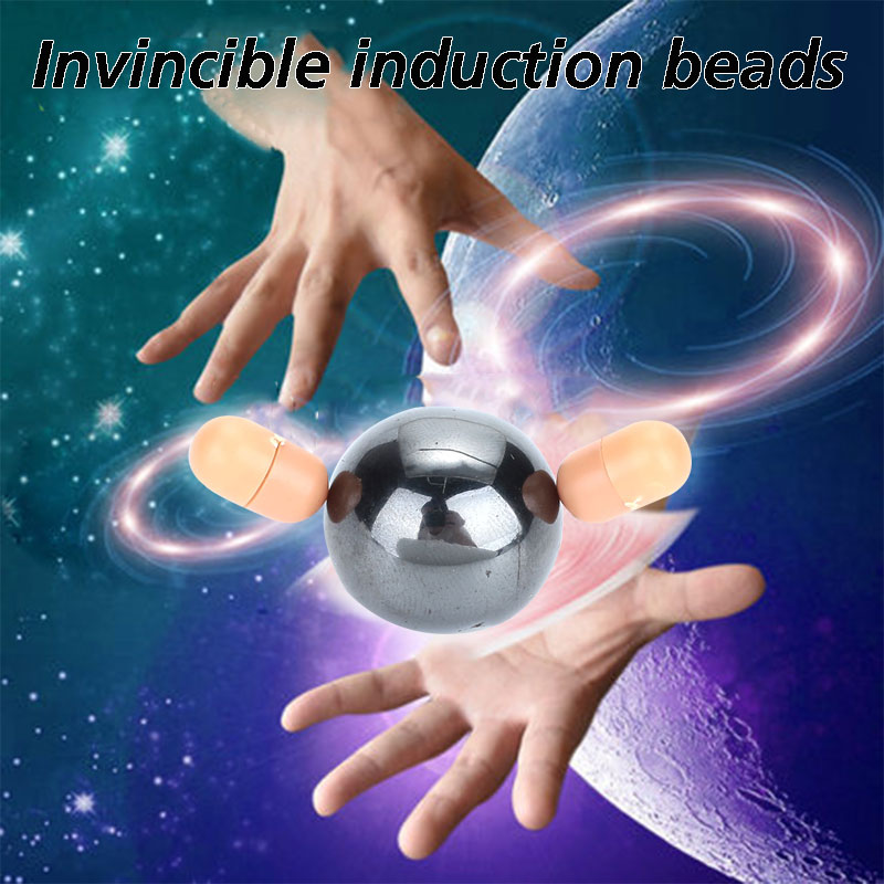 Magic Ball Magic Toys Induction Beads Magnet Black Magnetic Magic Accessories Gift Kid Interesting Toy Tricks Toy Magic Game