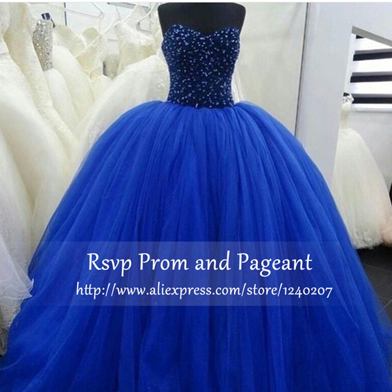 Online Buy Wholesale blue puffy prom dress from China blue puffy ...