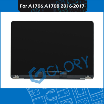 """2016 2017 Year Space Grey A1706 A1708 LCD Screen Assembly for Macbook Pro 13"""" Retina A1706 A1708 Complete Display Assembly 1"""