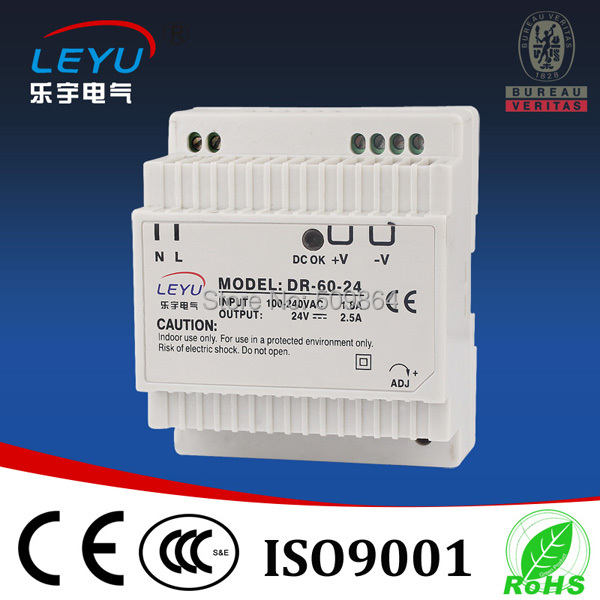 AC DC din rail <font><b>12v</b></font> 5 <font><b>amp</b></font> <font><b>power</b></font> <font><b>supply</b></font> image