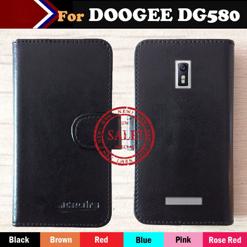 stock DOOGEE KISSME DG580 Case,Dedicated Flip Leather Phone Cover Case Card Wallet Business Style - ShenZhen OYO Technology Co., Ltd. store