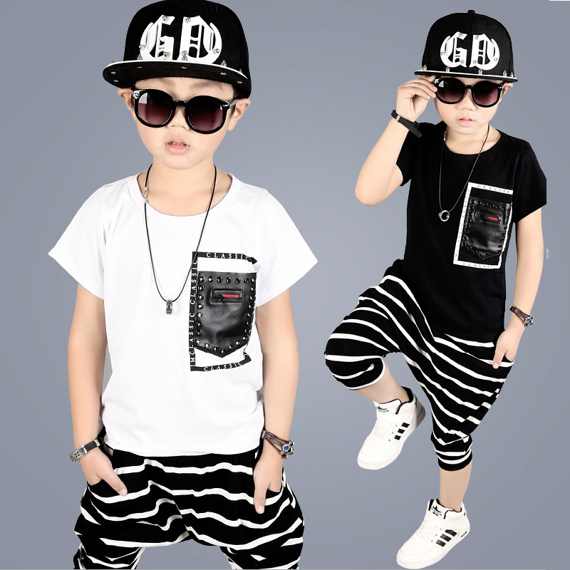 2017 Boys Clothing Toddler Infant Kids Children Suits Baby Boy Clothes T-shirt Tops striped Pants 2pcs Outfits Set 2 4 6 8 10 Y high quality branded boys t shirts children clothing baby t shirt kids clothes long sleeve striped cotton baby boy t shirt