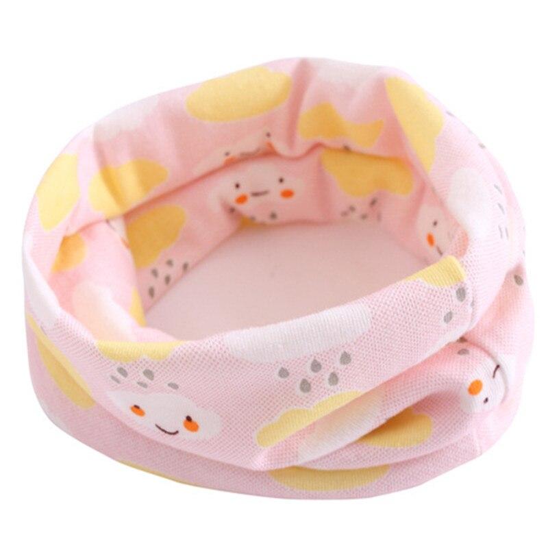 Весенний детский хлопковый шарф, теплый шарф для маленьких детей, осенне-зимние шарфы с героями мультфильмов для мальчиков и девочек, детский воротник с круглым вырезом, волшебный шейный платок - Цвет: 28