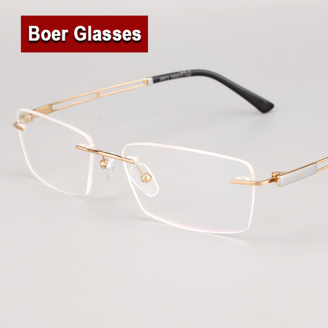 Nova Moda Olho Puro Titânio Óculos de Miopia Armação de Óculos Óptica da  Prescrição Quadros de 4ae7c8f52b