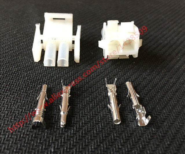 10 Set Tyco Amp 2 Pin PA66 1 480699 0 Female Male Electrical Wiring Harness Plug_640x640 10 set tyco amp 2 pin pa66 1 480699 0 female male electrical  at alyssarenee.co