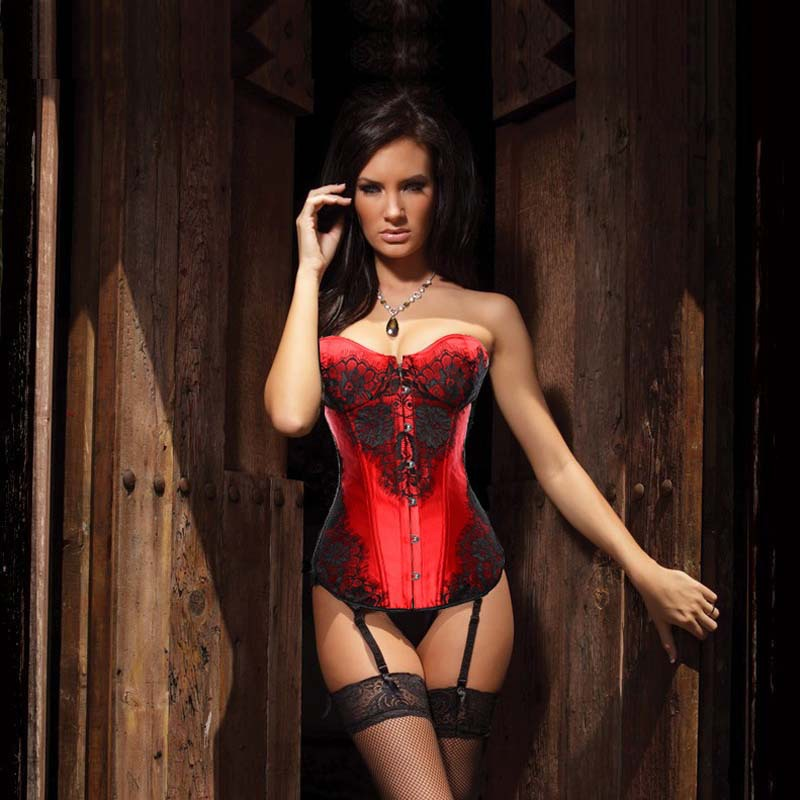 Wine Red Sexy Fashion Suspender Lace Nightdress_accessories_knowfashionstyle