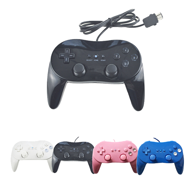 Classic Wired Game Controller Gaming Remote Pro Gamepad Shock controle Joystick For Nintend For Wii цена