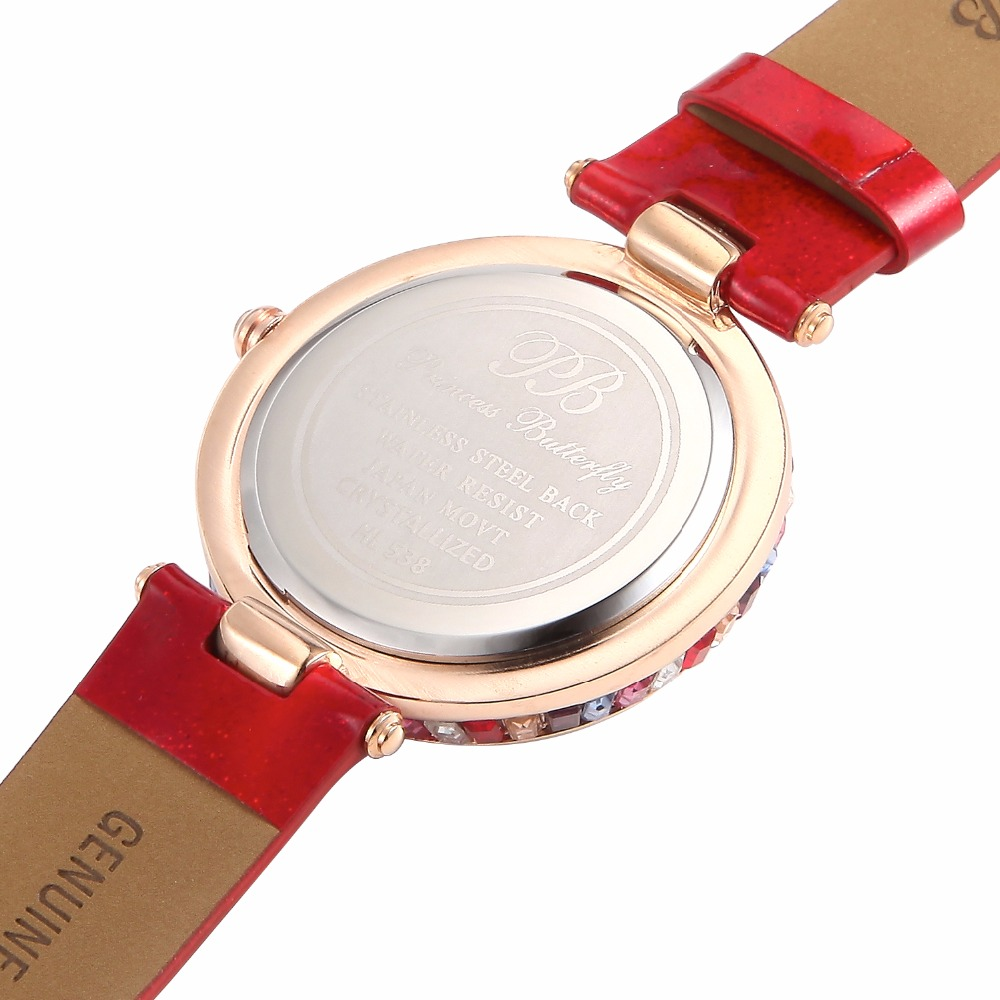 Designer Watch UK Girls Diamond Watches Famous Crystal Swarovski ...