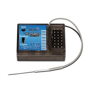Image 4 - Nowy turbo Tb Tx2 2.4Ghz Fhss Digital 7Ch Radio zdalnie sterowany przekaźnik z Tb Rx200 Lcd Led odbiornik do zdalnie sterowanej łodzi pojazdu
