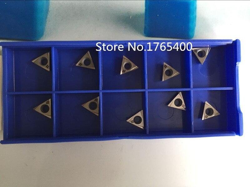 new 10pcs Carbide inserts TPGT080202L use for Boring bars