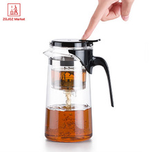 Samadoyo drift pot Heat Resistant Borosilicate Glass Teapot with Infuser Food grade stainless steel SAG10 750ml