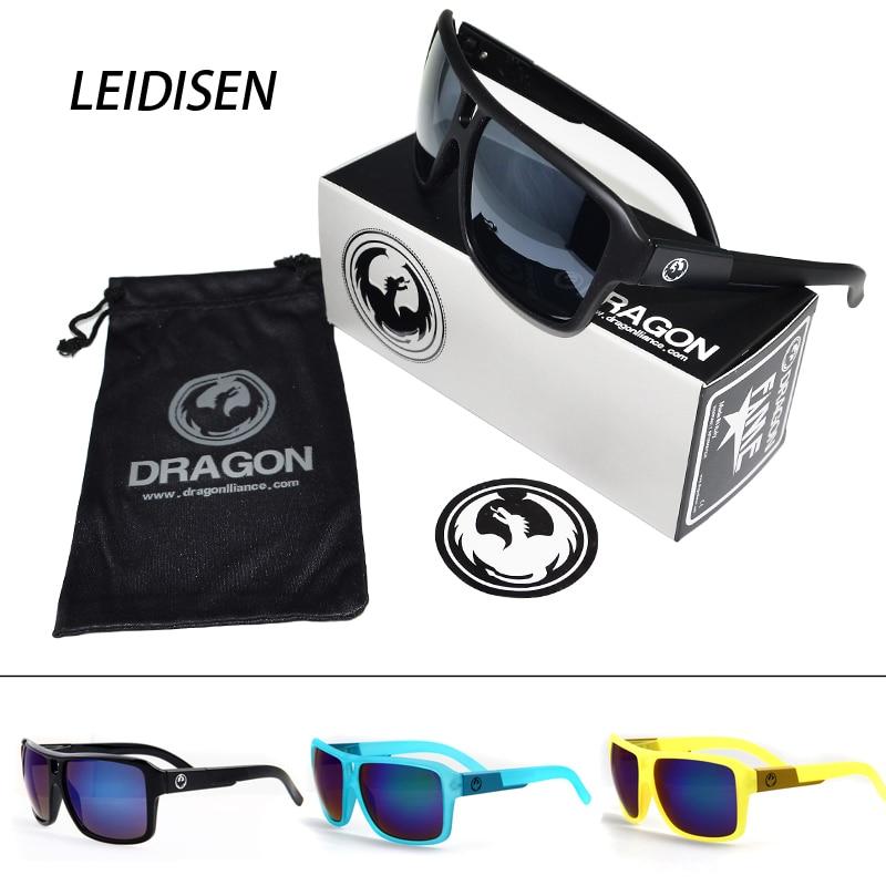 Original caixa de plástico homem óculos de sol venda quente moda vintage óculos de sol homem uv400 revestimento lentes de sol feminino