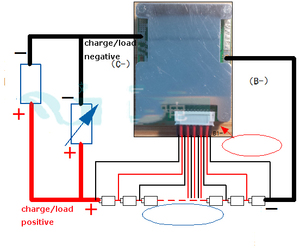 Image 5 - 10 s 30A 36 v lipo lithium Polymer BMS/PCM/PCB batterij bescherming boord voor 10 Packs 18650 li ion e bike Batterij Mobiele w/balans