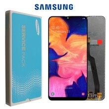 10 teile/los 100% ORIGINAL für Samsung Galaxy A10 lcds Digitizer A105/DS A105F A105FD A105A Display Touchscreen Digitizer montage