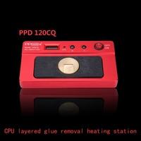 PPD 120CQ intelligent desoldering platform CPU layered glue removal heating board motherboard repair heating station mini
