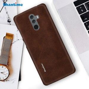 Image 1 - חם למכור מקרה יוקרה בציר עור מפוצל מקרה עבור Elephone U פרו טלפון מקרה עבור Leagoo M9 עסקי סגנון כיסוי