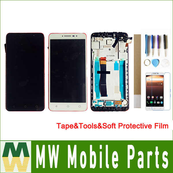 "1 teil/los 6,0 ""Für Alcatel A3 XL 9008 9008X 9008D 9008A OT900 OT9008 LCD Display + Touch Screen Digitizer montage Schwarz Weiß"