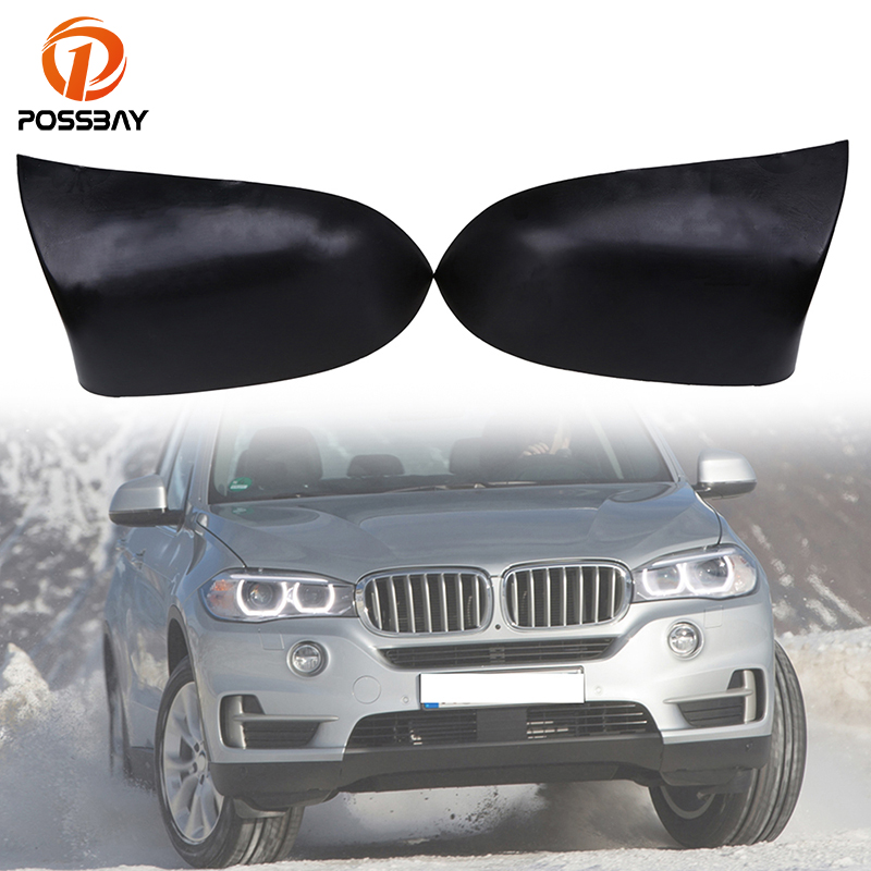 POSSBAY Automobiles Rear view Mirror Case Fit for BMW X3 SUV F25 2011/2012/2013/2014/2015/2016/2017 Car Rearview Mirror Cover