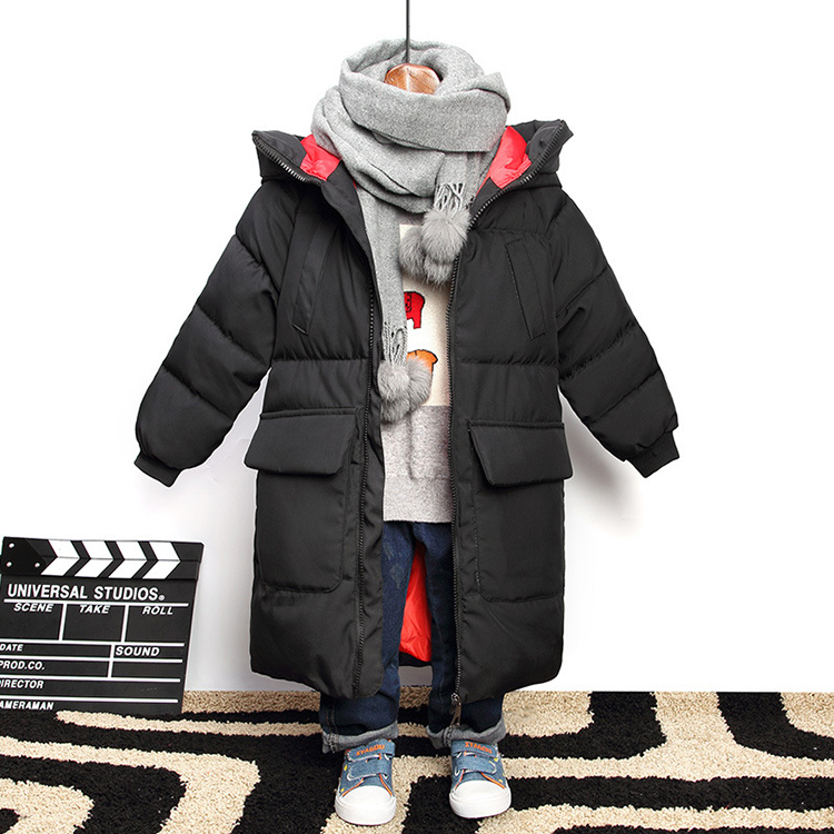 New Brand Hooded Winter Jackets For Teenagers Boys