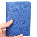 Fashion Lavender Passport Holder Cover PU Leather ID Card Travel Ticket Pouch Packages  Covers Passport Credit Case PC0001