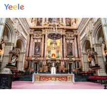 Yeele Christian Church Castle Palace Wedding Portrait Photography Backgrounds Photographic Backdrops For Photo Studio