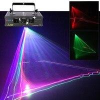 3 rgb подсветка линзы лазерный сканер луч профессиональная световая аудиосистема DMX автоматический проектор лампа DJ вечерние Ночной клуб Рож